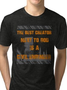 Civil Engineers Tri-blend T-Shirt