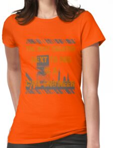 Civil Engineers Womens Fitted T-Shirt