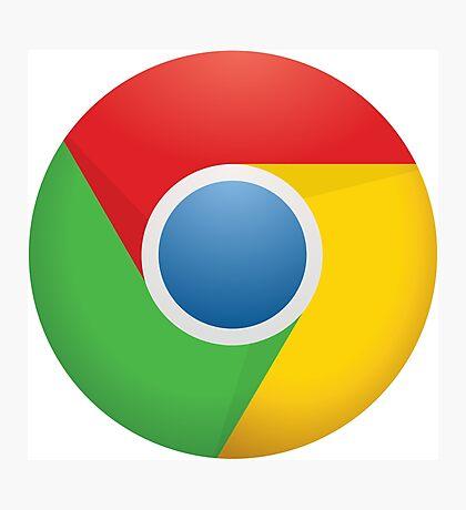 Google Chrome Photographic Print