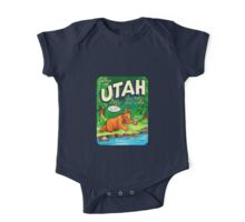 Utah Great Salt Lake United States of ALF Travel Decal One Piece - Short Sleeve
