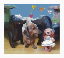 Dachshund Love Kids Clothes