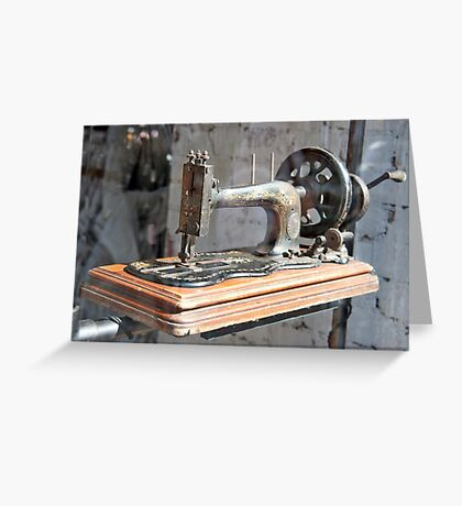 Hand Cranker Greeting Card