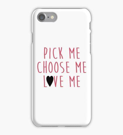 Grey's Anatomy - Pick Me, Choose Me, Love Me iPhone Case/Skin