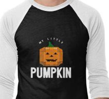 My Lil' Brick Pumpkin Men's Baseball ¾ T-Shirt