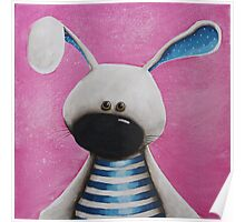 The Blue Rabbit Poster