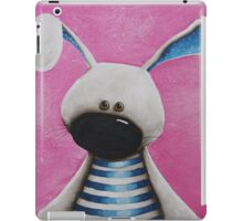 The Blue Rabbit iPad Case/Skin