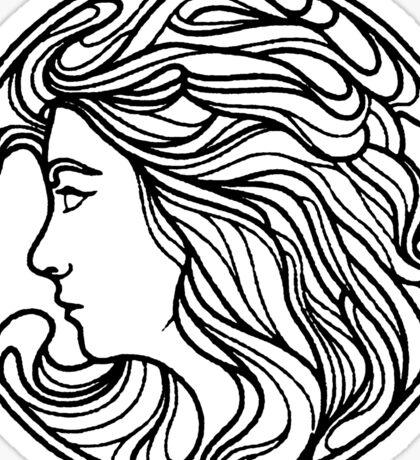 Lorde Unique Logo Design Sticker
