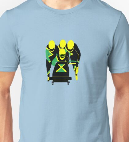 Jamaican Bobsled Team Unisex T-Shirt