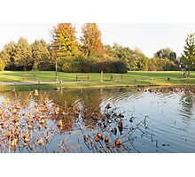 water reflection on lake Photographic Print