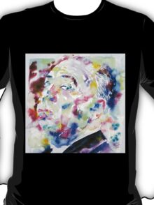 ALFRED HITCHCOCK watercolor portrait.1 T-Shirt