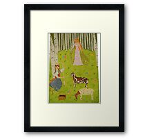 The Wood Maiden Framed Print