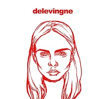 cara delevingne by iumba