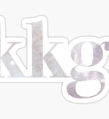 Galaxy KKG Sticker