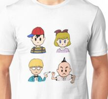 Earthbound's 4 Heroes Unisex T-Shirt