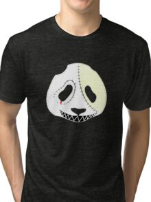 Day of The Dead Panda Tri-blend T-Shirt