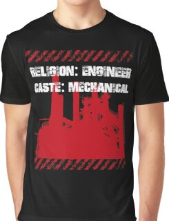 Typography Funny Sayings Mechanical Engineer Graphic T-Shirt