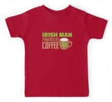 IRISH MAN powered by coffee Kids Tee