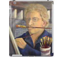 A Portrait of the Artist at Work iPad Case/Skin