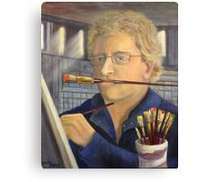 A Portrait of the Artist at Work Canvas Print