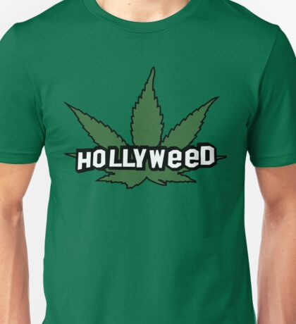 HOLLYWOOD HOLLYWEED Unisex T-Shirt
