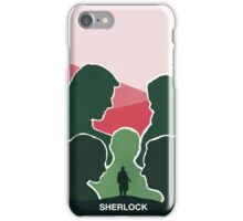 BBC Sherlock Poster iPhone Case/Skin