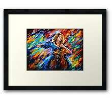 Music - Leonid Afremov Framed Print