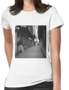 Bruno's, The Place To Be Womens Fitted T-Shirt