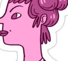 Tall Hair Sticker