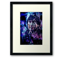 The Second Doctor Framed Print