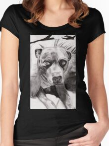 Woodrow Women's Fitted Scoop T-Shirt