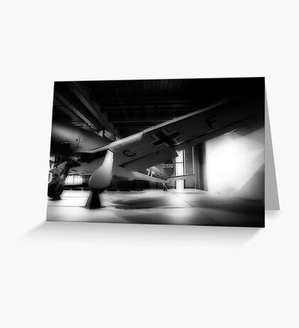 German Aircraft - Censored Greeting Card