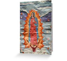 Our Lady of Guadalupe (Papyrus Version) Greeting Card