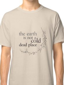 Explosions in the Sky - The earth is not a cold dead place Classic T-Shirt