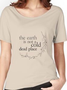 Explosions in the Sky - The earth is not a cold dead place Women's Relaxed Fit T-Shirt