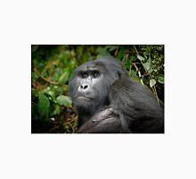 portraet of a silverback mountain gorilla, Bwindi, Uganda Unisex T-Shirt