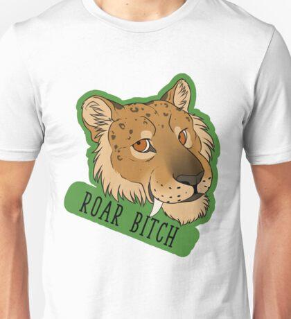 Saber / Smilodon Pride - ROAR BITCH Unisex T-Shirt