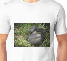 silverback mountain gorilla, Bwindi, Uganda Unisex T-Shirt