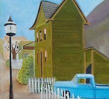C Street, Virginia City, Nevada by Lynn Ahern Mitchell