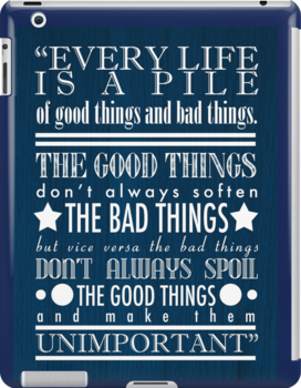 Doctor Who Quote Poster by Darth-Sarah