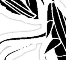 Preying Mantis Silhouette Sticker
