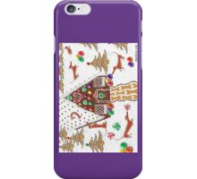 Gingerbread Dachshunds iPhone Case/Skin
