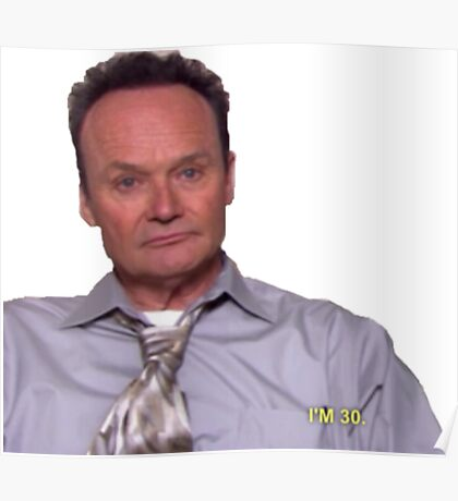 Creed is 30 Poster