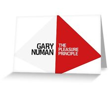 Gary Numan The Pleasure Principle Greeting Card