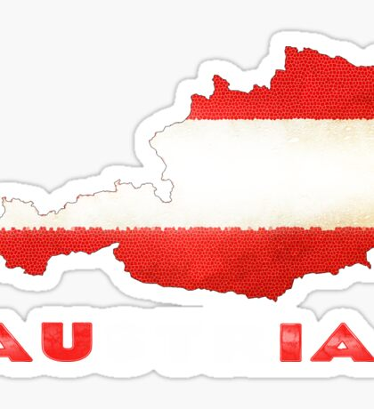 Austria Flag Shirt Available in Shirts Hoodies and More. Sticker