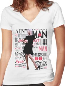 Ain't No Other Man Women's Fitted V-Neck T-Shirt