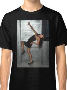 Black Dress Woman Classic T-Shirt