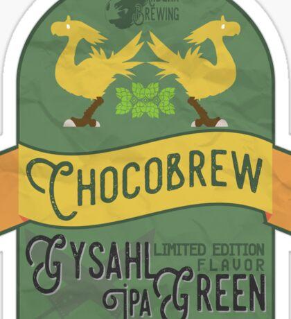 Chocobrew - Gysahl Green IPA Sticker