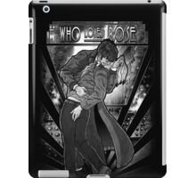 Who Loves Rose - Art Deco Remix iPad Case/Skin
