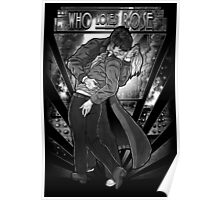 Who Loves Rose - Art Deco Remix Poster