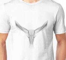 SKULL LINE ILLUSTRATION - BULL  Unisex T-Shirt